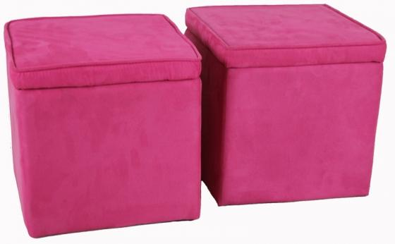 Pink Storage Box Chairs main image