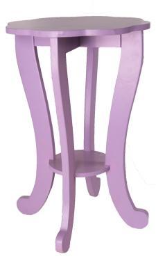Children's Purple Lamp Stand main image
