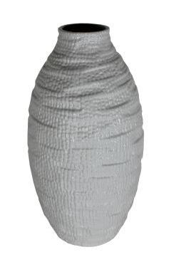 Large White Ceramic Vase main image