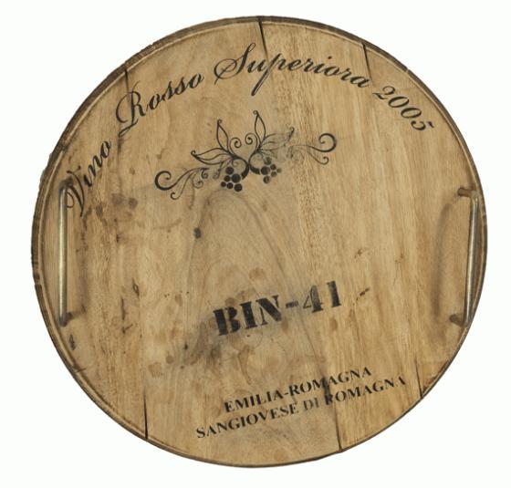 Wine Barrel Tray main image