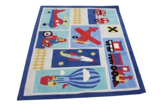 Small Multi-Color Children's Area Rug  main image