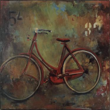 Bicycle Abstract Canvas  main image