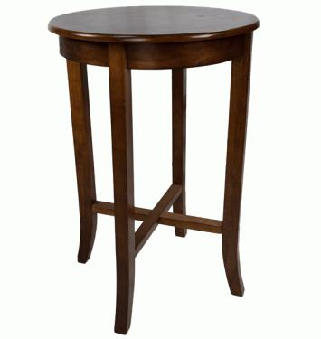 Round Cherry Counter Height Bistro Table main image