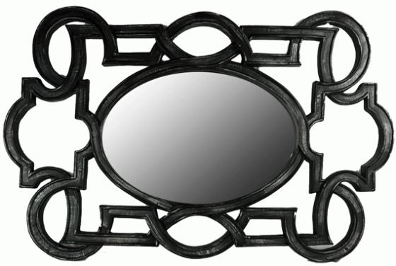 Black Scroll Mirror main image