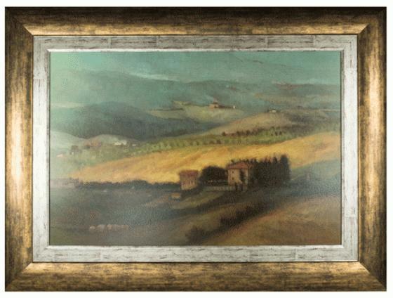 Landscape Art with Antique Gold Frame main image