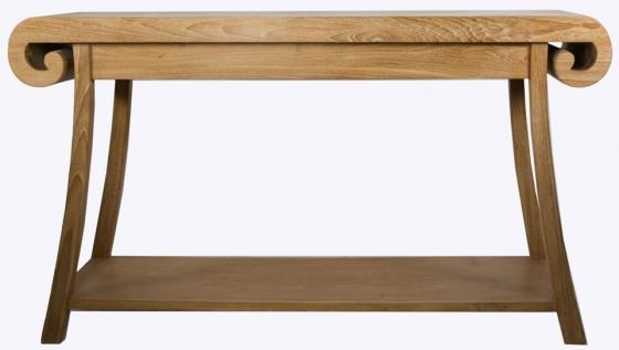 Console  Oak Table main image