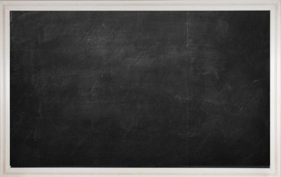 Large Chalkboard with White Frame main image