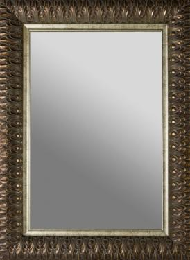 Gold frame Rectangular Mirror main image