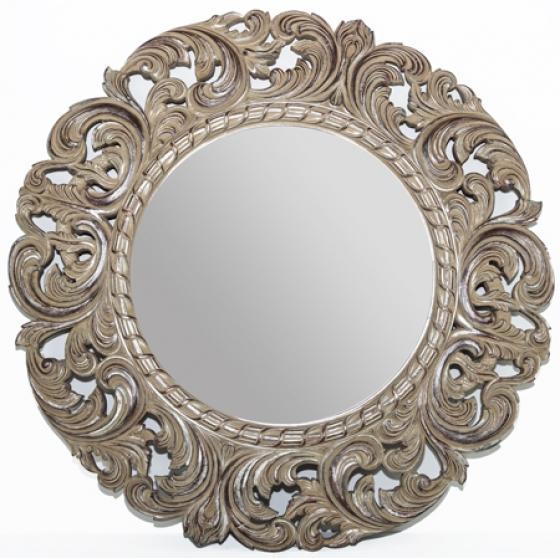 Floral Framed Mirror main image