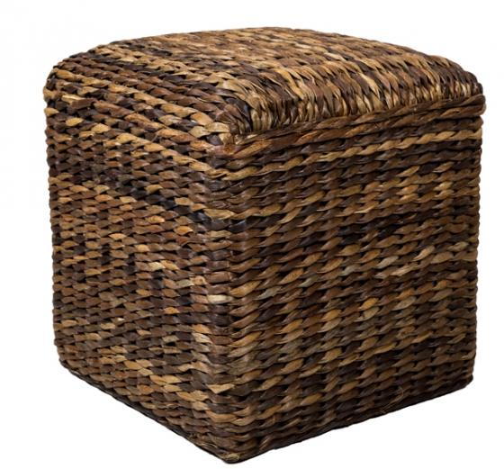 Wicker Ottoman main image