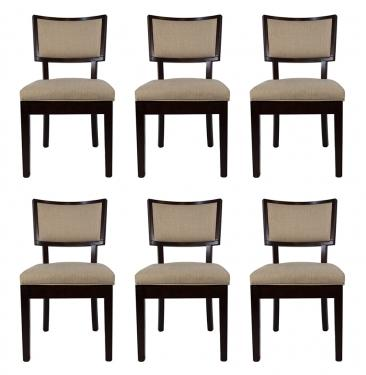 Six Linen Chairs main image