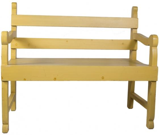 Small Yellow Bench main image
