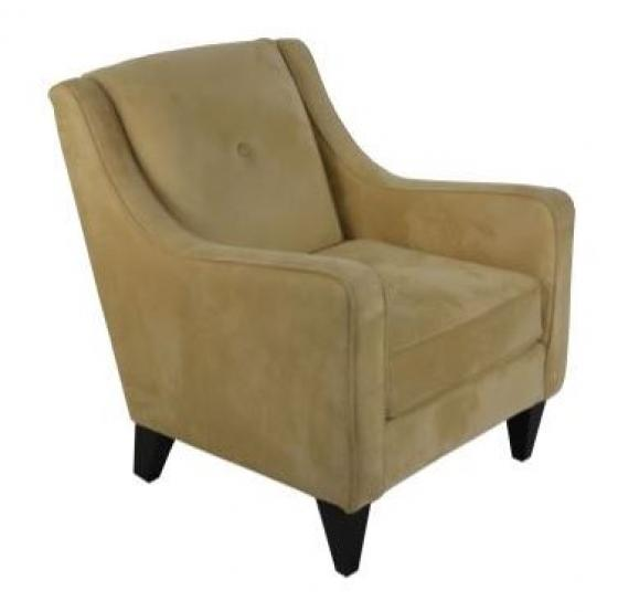 Tan Suede Accent Chair  main image