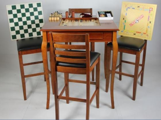 Wood Game Table main image
