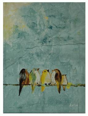 Birds Canvas Art main image