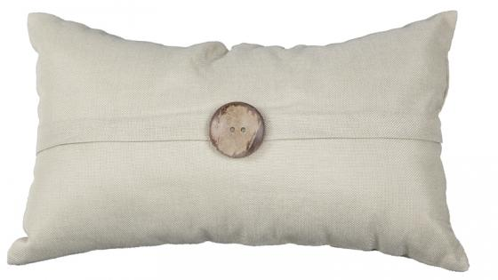 Lumbar Button Pillow main image