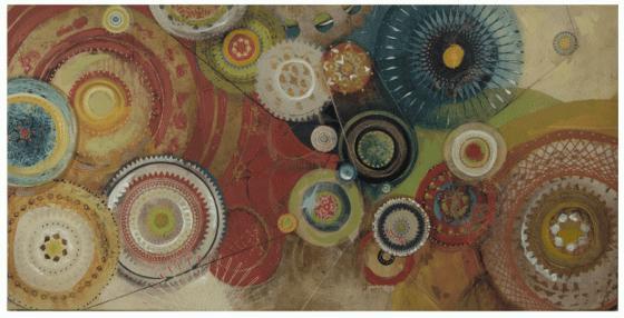 Circles Canvas Art main image