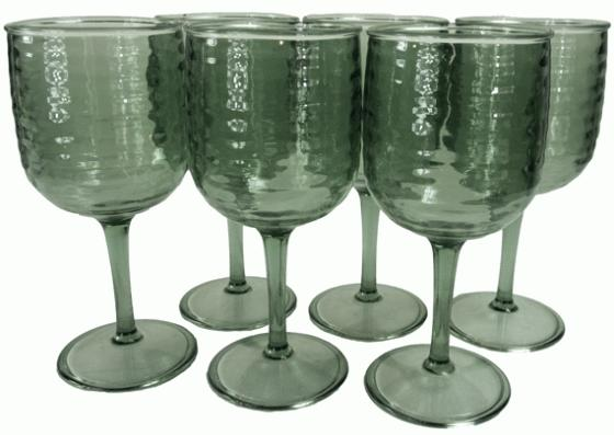 6 Wine Glasses  main image