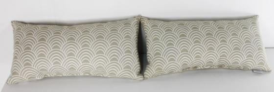 Taupe Shell Print Lumber Pillow Set main image