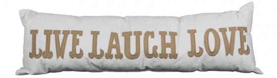 Live Laugh Love Pillow main image