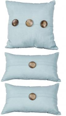 Button Pillow Set  main image