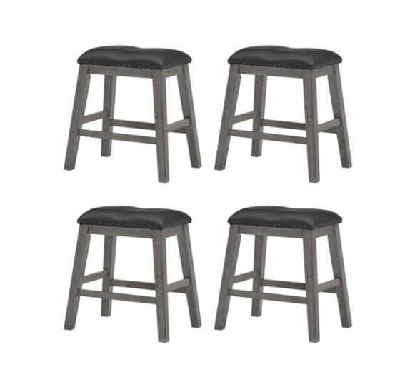 Set of 4 Counter Height Stools main image
