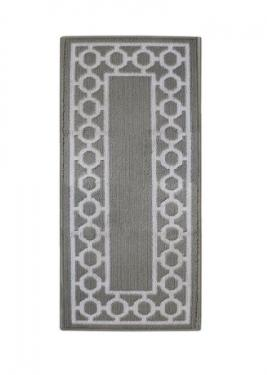 Grey & White Carpet Runner main image