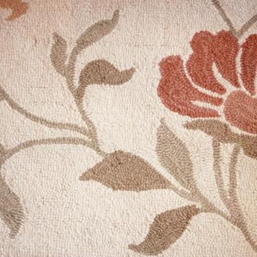 Floral Creme Rug 5'x7'6 main image