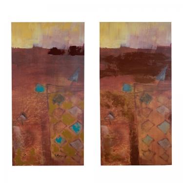 20x40 Umbrella Cups in Desert Art (2) main image