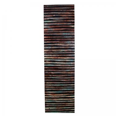 20x72 Multicolor Stripe Canvas Art main image