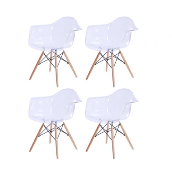 Carl PC Maple Dowel Leg Chairs main image