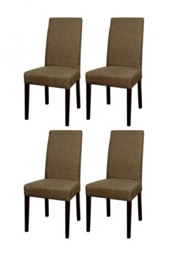 Toffee Hartford Fabric Chairs main image