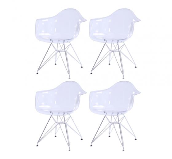 Carl Chrome Legs Chair main image
