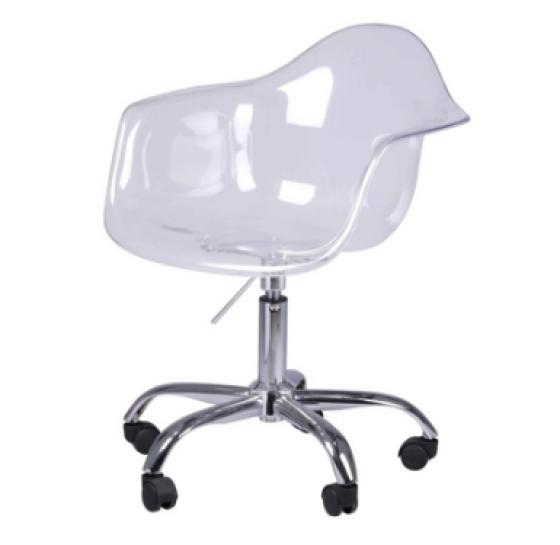 Transparent Crystal Office Chair main image