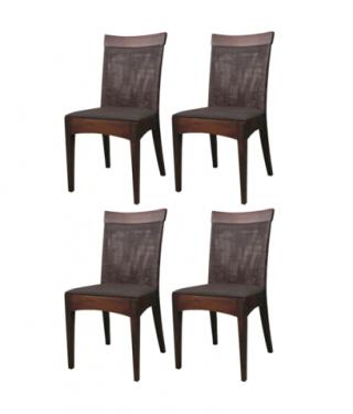 Santiago Rattan Dining Chairs main image