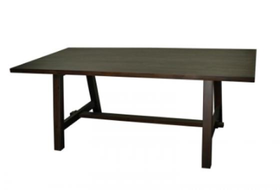 "Cocoa Glaze Bedford 79"" Rect. Dining Table main image"