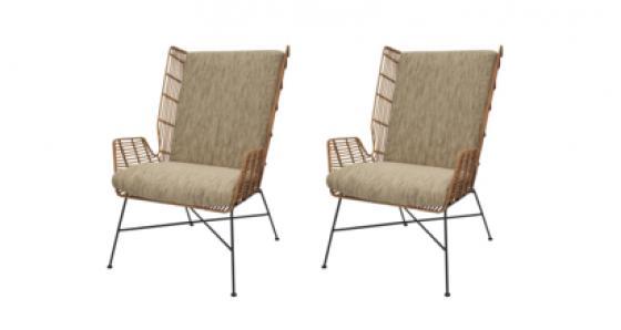 Shenna Rattan Chair main image