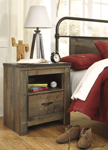 ONE DRAWER NIGHT STAND SET main image