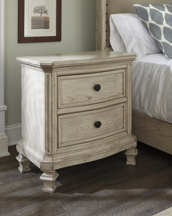 TWO DRAWER NIGHT STAND  main image
