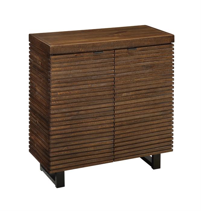 DeWiltt Rustic Brown Cabinet  main image