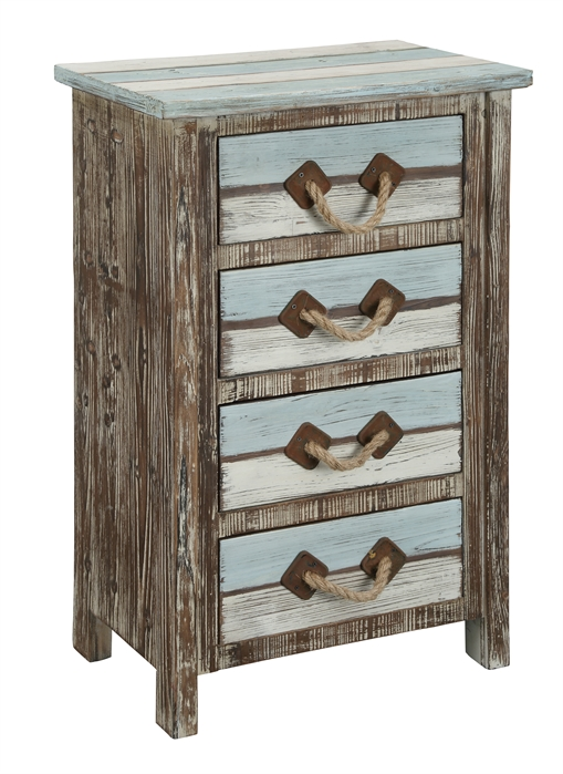 Furniture Islander Multicolor Four Drawer Chest main image