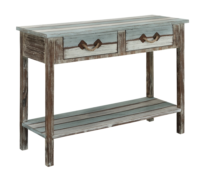 Islander Two Drawer Console Table main image