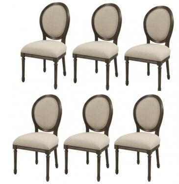 SET OF 6  Accent Dining Chair main image