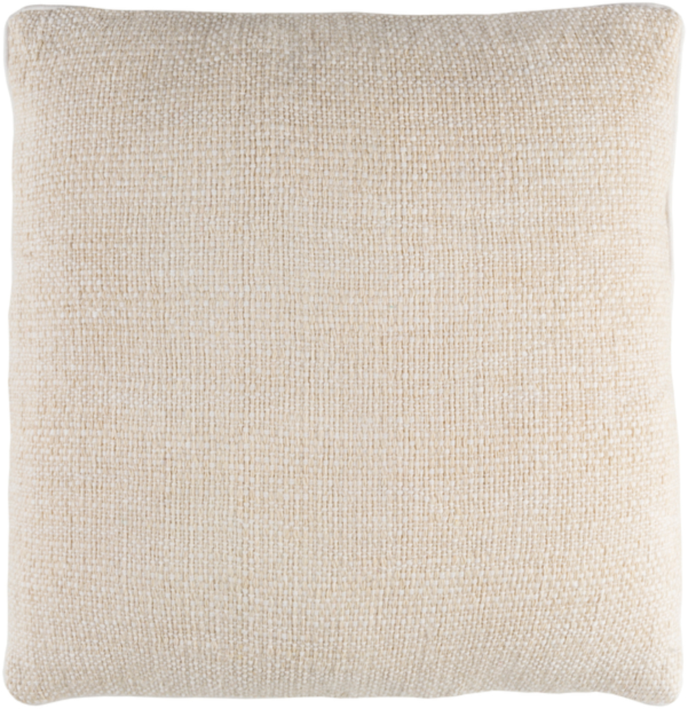 Cream Bihar Throw Pillow 20 x 20 main image