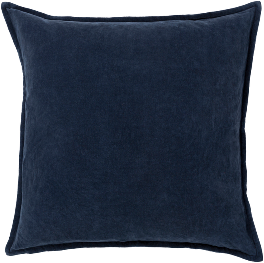 Blue velvet Pillow 22 x 22 main image