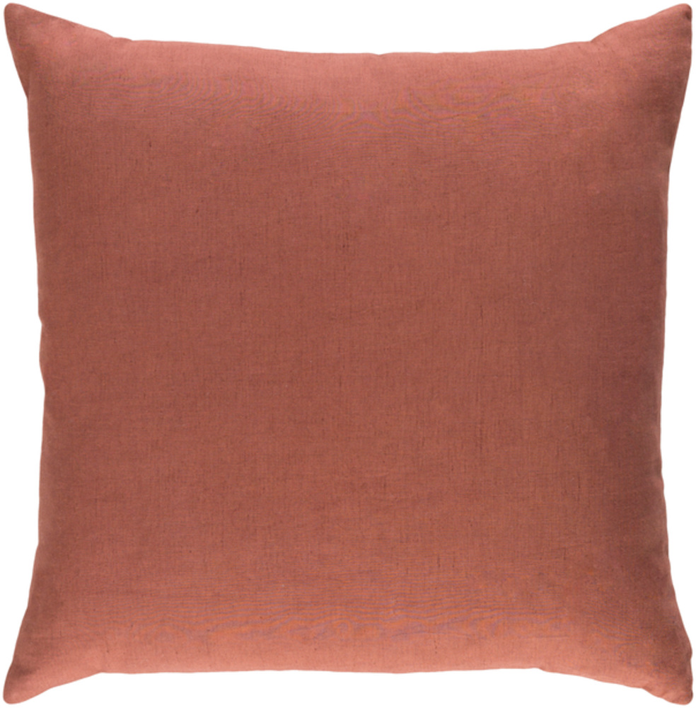 Copper Brown Decorative Pillow 18 x 18 main image