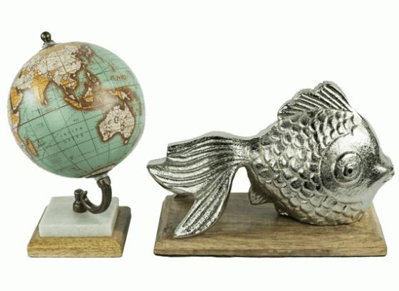 Fish and Globe Set main image