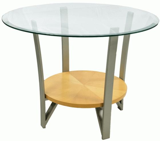 Round Glass Table  main image