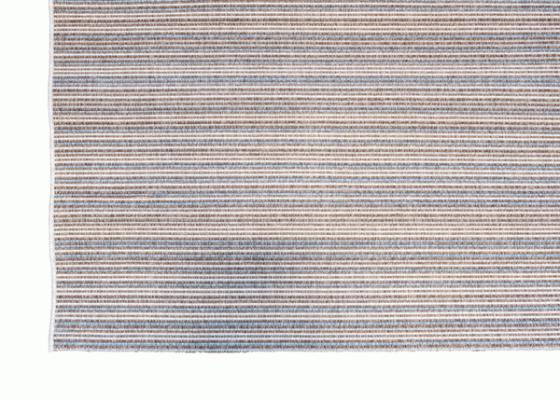 Blue Striped Jute Rug 5x7 main image