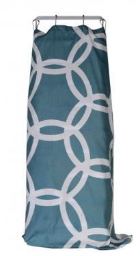 Blue & White Shower Curtain main image